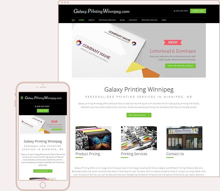 printing website template toronto print shop website themes. Black Bedroom Furniture Sets. Home Design Ideas