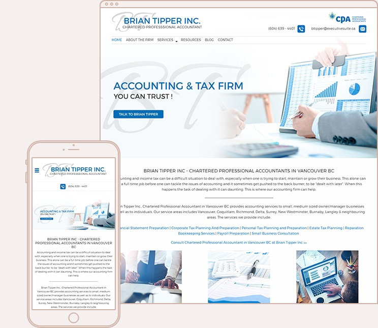 Brian Tipper Chartered Professional Accountant
