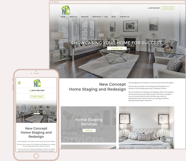new concept home staging